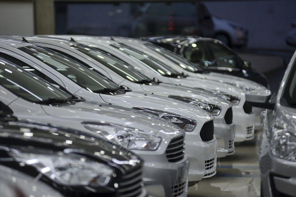 Vendas de veículos crescem 9%