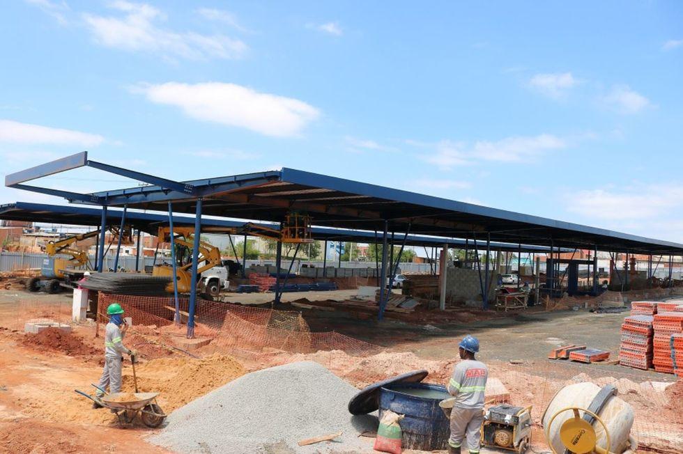 Terminal Vitória Régia recebe cobertura