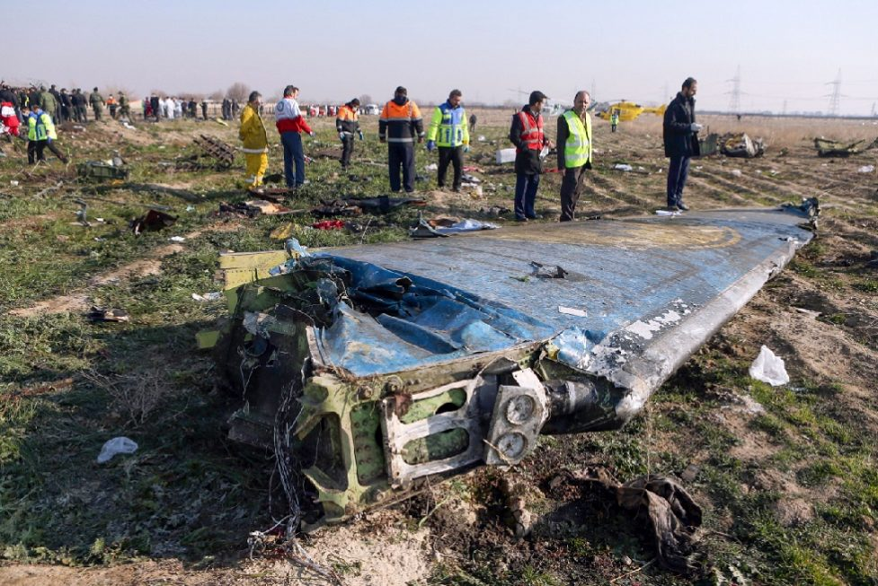 Canadá diz ter informação de que Irã derrubou avião ucraniano