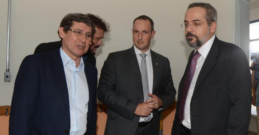 Ministro da Educação inaugura unidade escolar em Porto Feliz