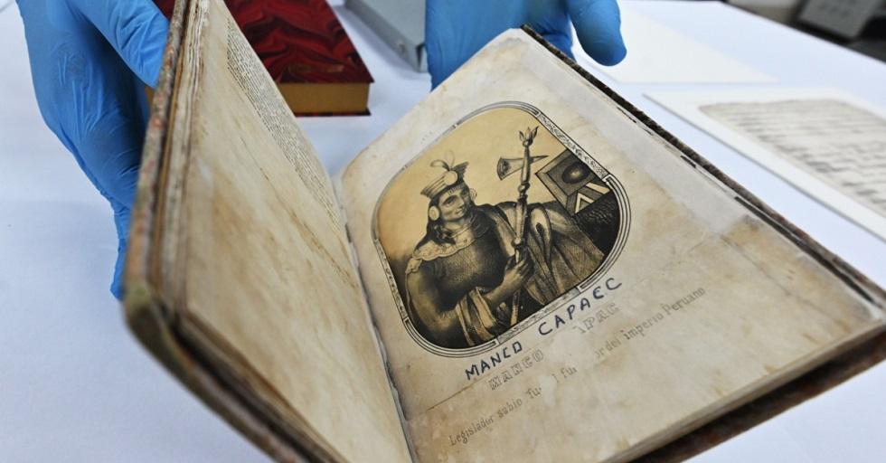Peru recupera manuscrito valioso sobre os incas perdido há 140 anos