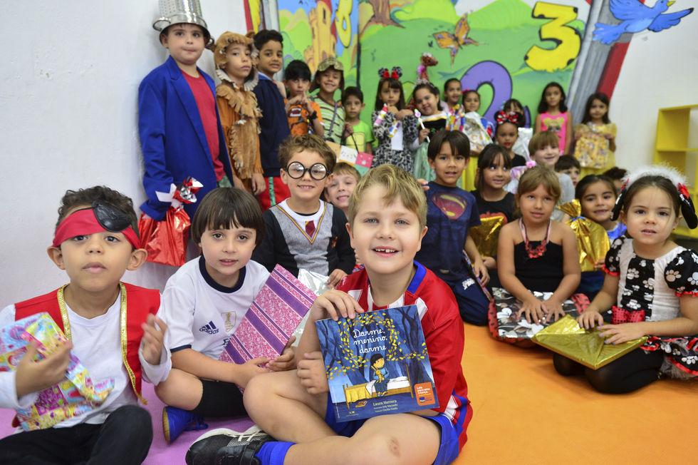Livros ajudam crianças no aprendizado das letras