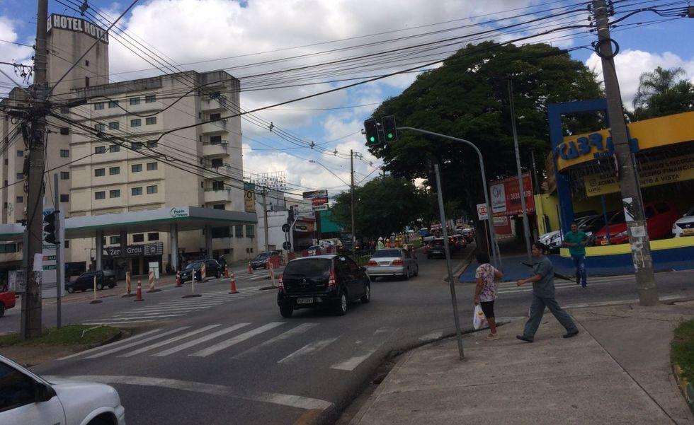 Obras do BRT na Ipanema envolvem as duas pistas