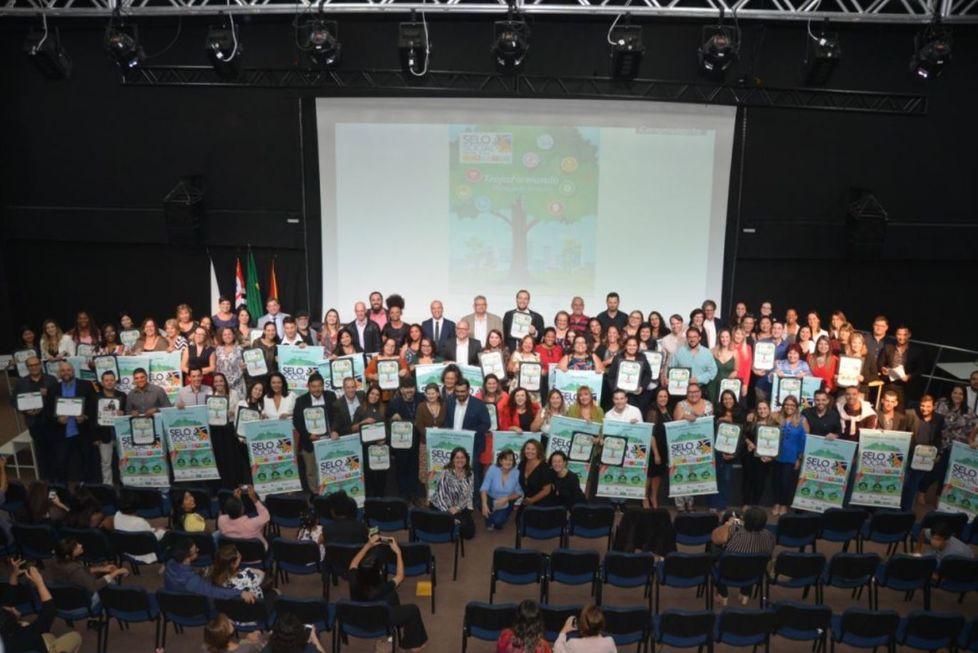 Organizações recebem o Selo Social