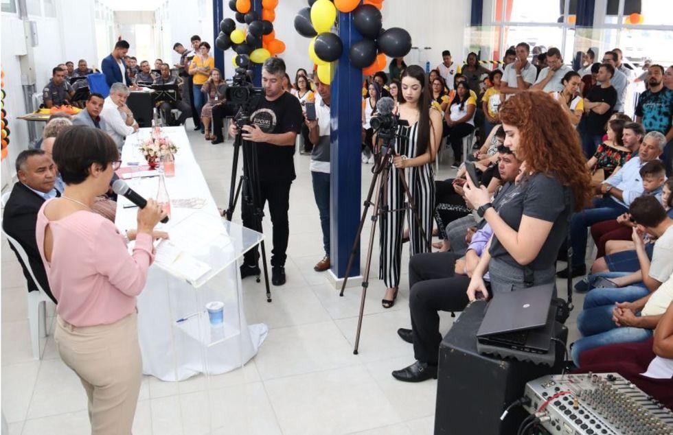 Prefeitura inaugura CEI na Vila Santa Clara