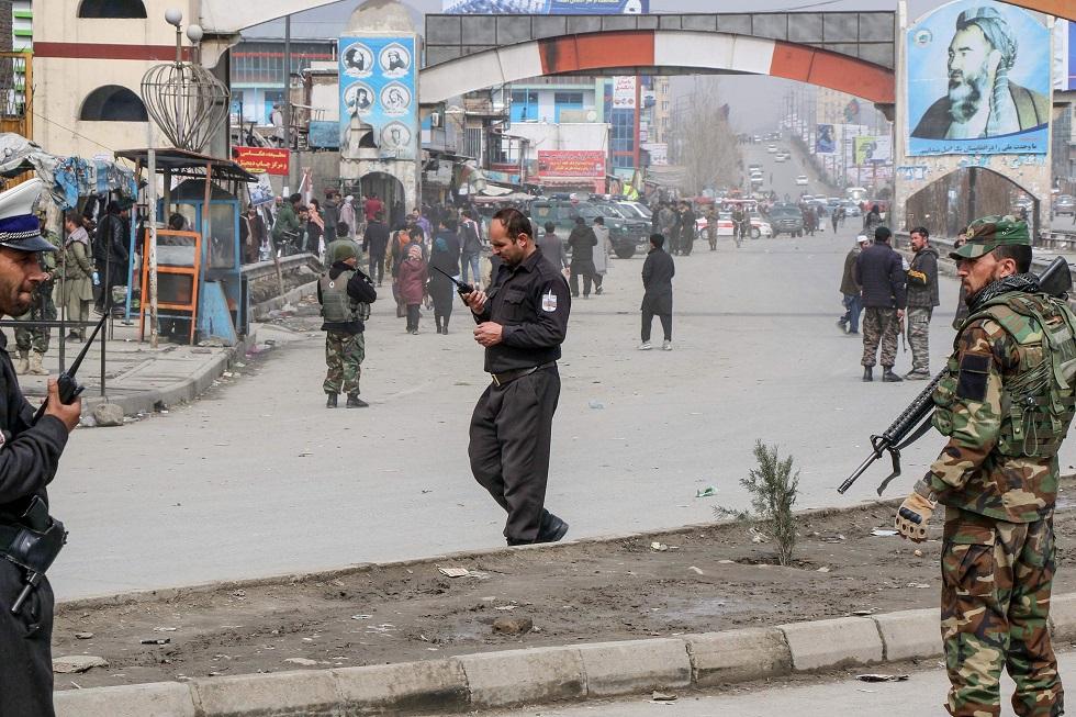 Um porta-voz informou que todas as autoridades de alto nível foram retiradas com segurança do local do ataque. Crédito da foto: STR / AFP