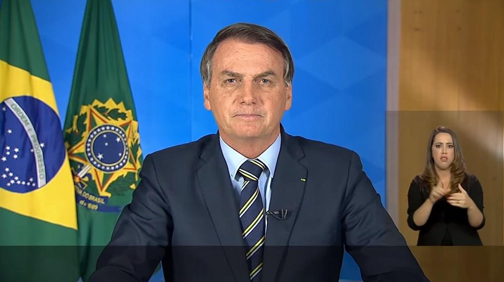 Bolsonaro faz pronunciamento sobre a crise do novo coronavírus