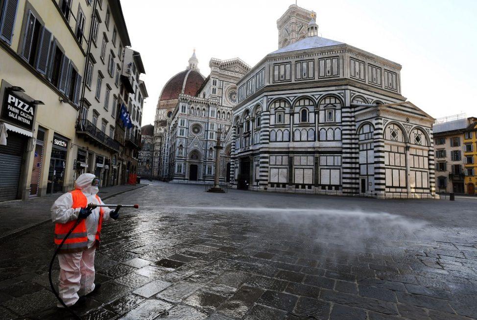 Itália ordena paralisação de toda atividade de produção não essencial