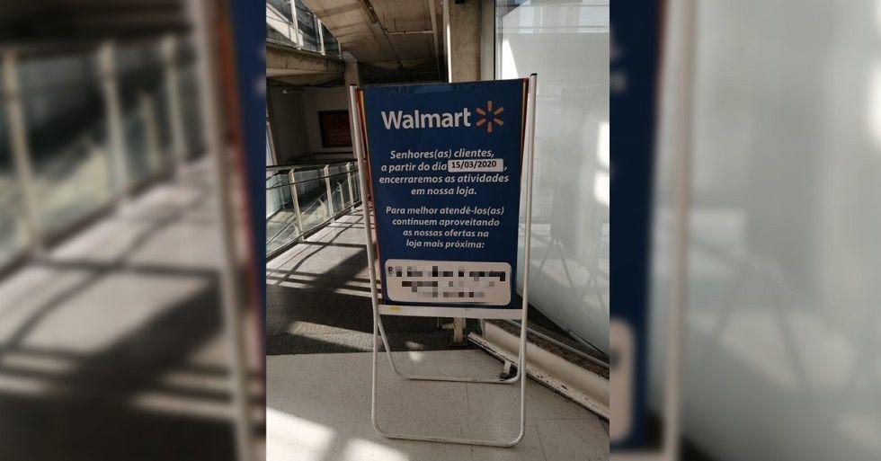 Walmart de Sorocaba fecha para reforma