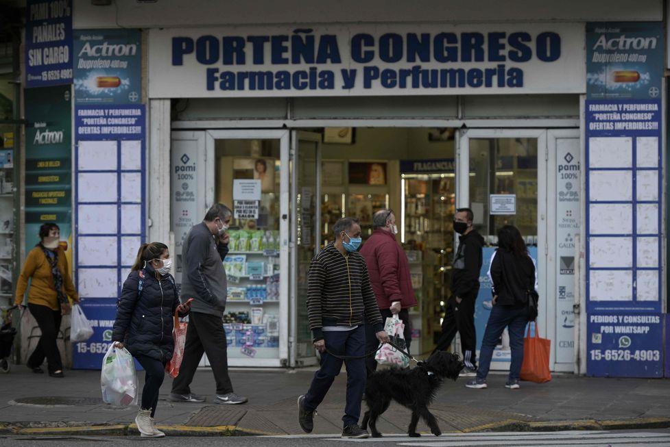 Argentina obriga uso de máscaras
