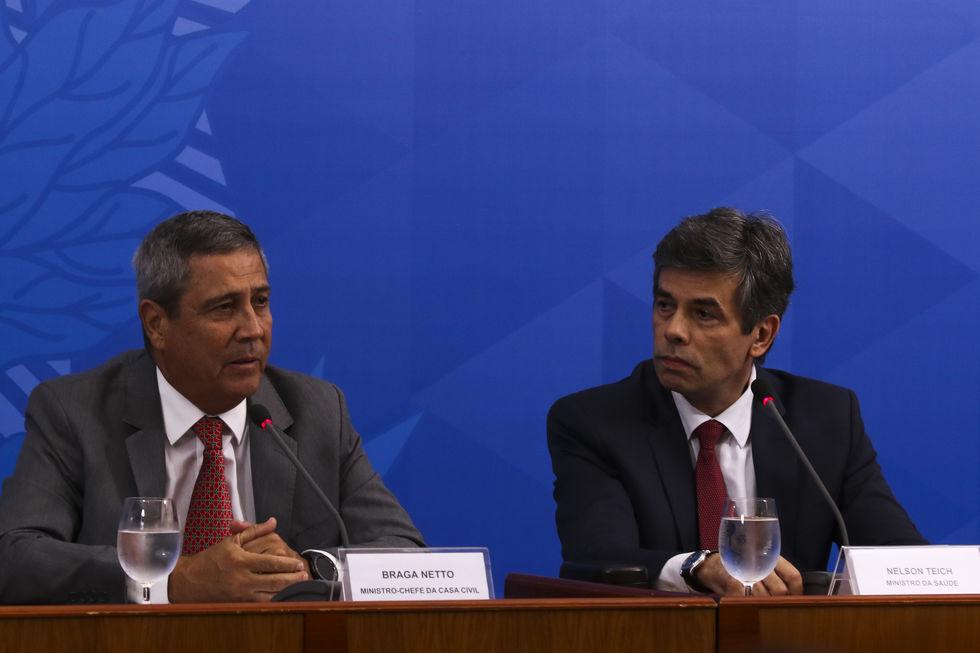 Braga Netto anuncia programa de recuperação pós-pandemia