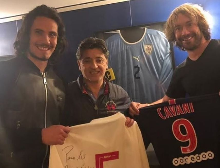 Cavani será do São Paulo, promete Lugano