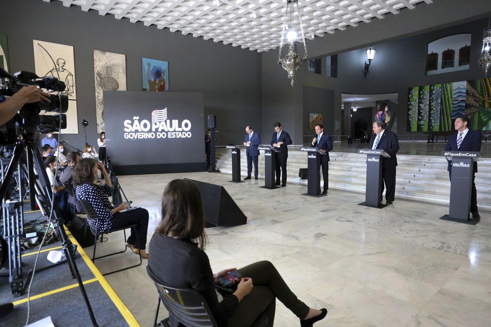 'Com taxa de isolamento em 48% não será possível flexibilização em SP', diz Doria