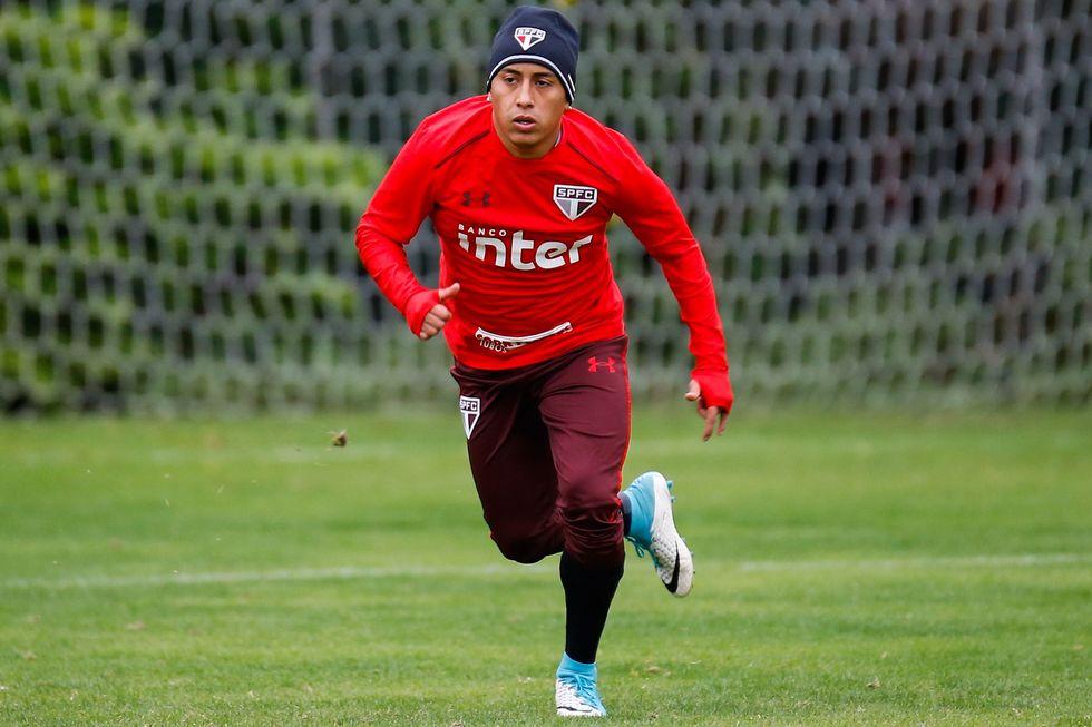 Cueva revela desejo de voltar ao São Paulo