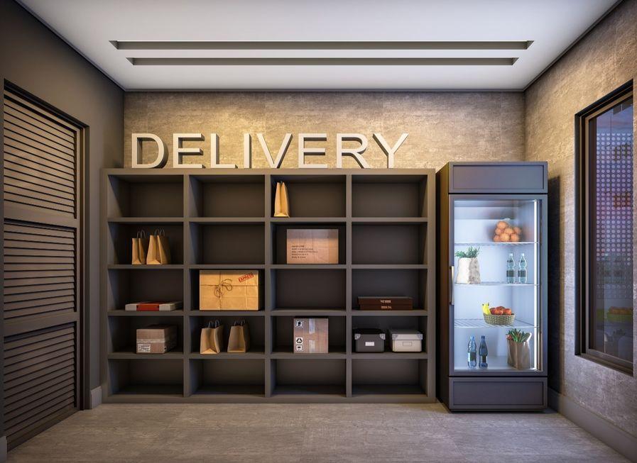 Delivery faz condomínios criarem espaços exclusivos