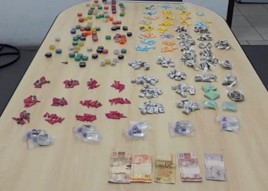 GCM detém dupla com drogas no Vitória Régia