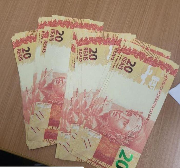 Homem é preso com dinheiro falso em Sorocaba