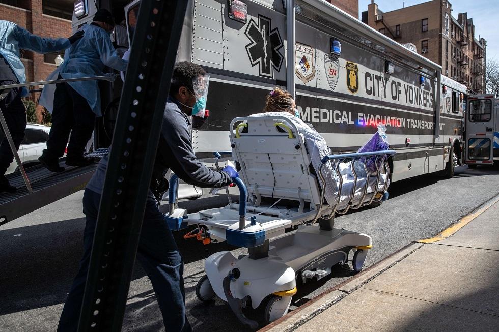 Nova York bate recorde de mortes por coronavírus