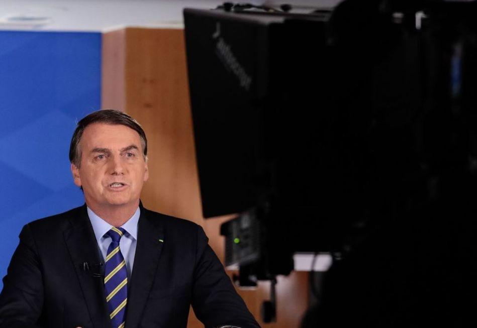 Pronunciamento do presidente Bolsonaro