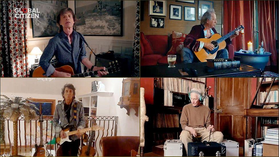 Rolling Stones lançam música inspirados pela pandemia
