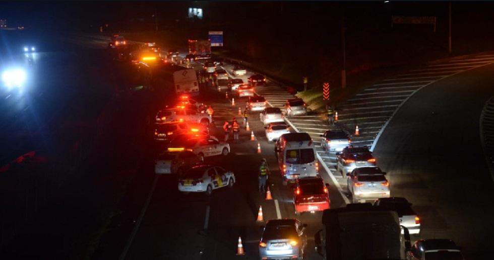 Acidente interdita pista da Castelo Branco, em Araçariguama