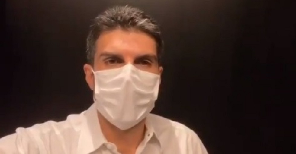 Helder Barbalho, governador do Pará, está com coronavírus