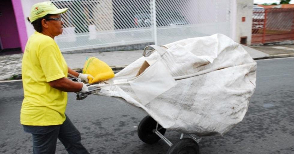 Coletor cooperado de recicláveis terá auxílio de R$ 600 em Sorocaba