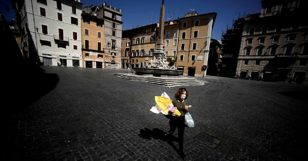 Itália tem o número mais baixo de mortes por coronavírus em três semanas