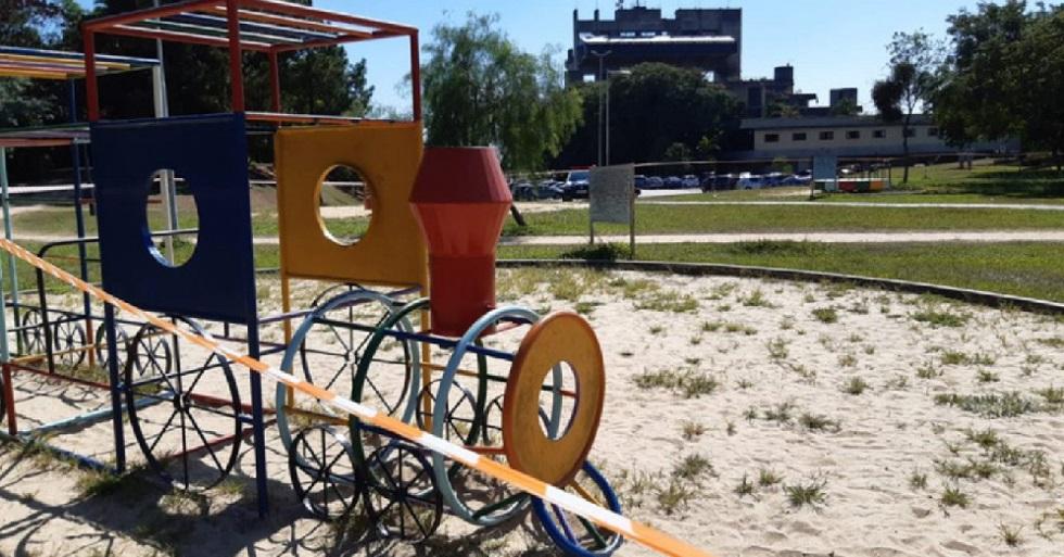 Prefeitura interdita playgrounds de parques abertos de Sorocaba