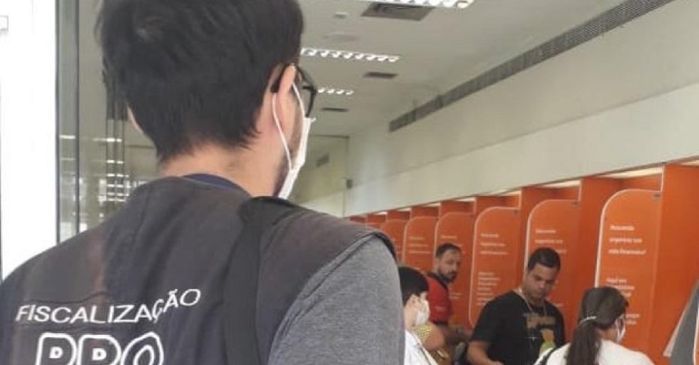 Empresas bancárias sem ambientes higienizados são autuadas em Sorocaba