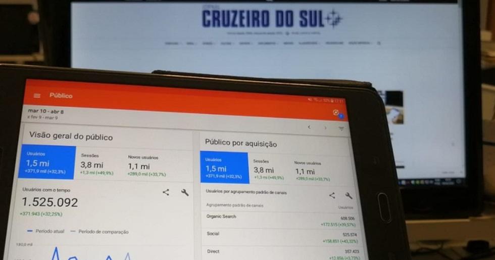 Site atinge a marca de 1,5 milhões de usuários únicos em um mês