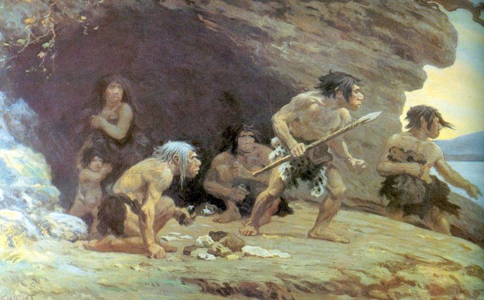 De volta às cavernas