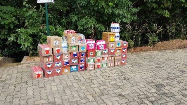 Mobilização em condomínio arrecada donativos