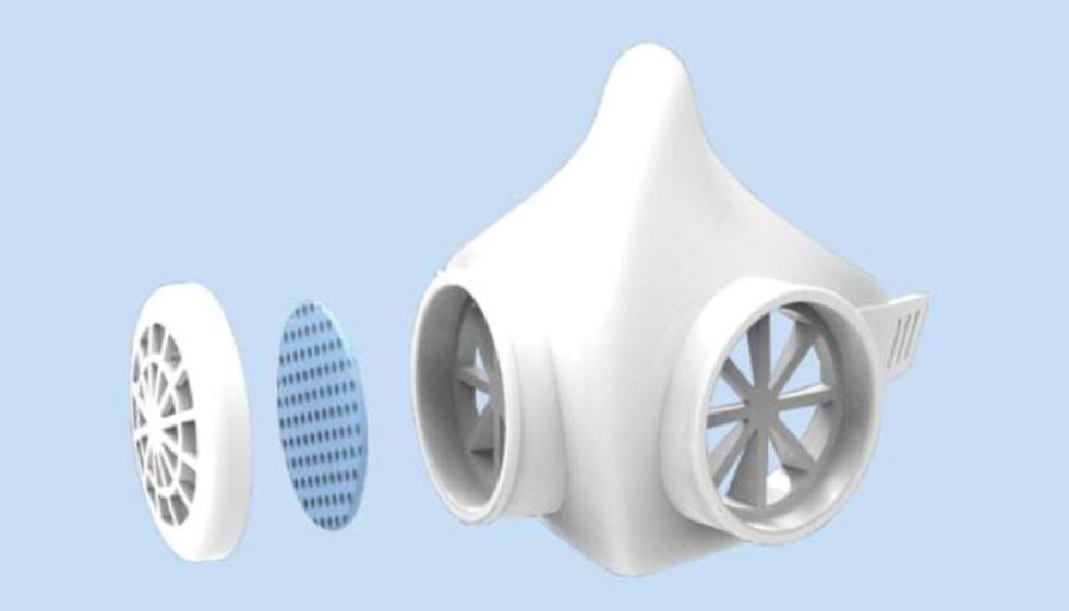 Startup paulista de nanotecnologia cria máscara impermeável contra coronavírus