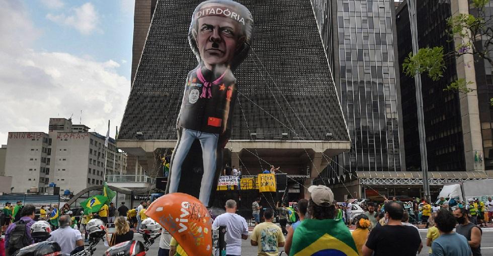 São Paulo tem manifestação a favor da reabertura do comércio