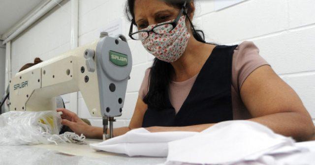 Campanha recebe 1,9 mil máscaras de tecido da Fundação Toyota
