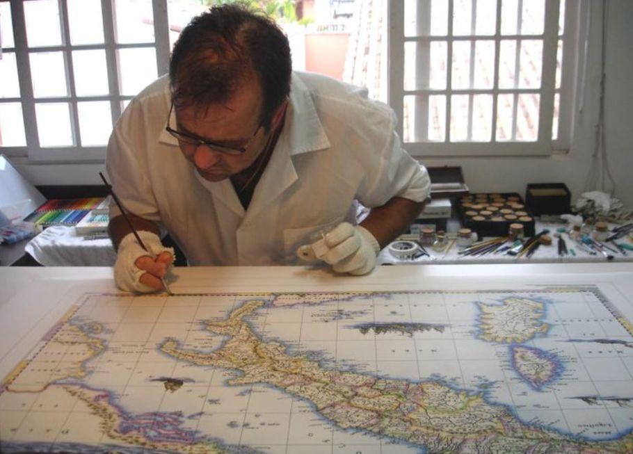 Tropeirismo será eternizado em mapas feitos à mão