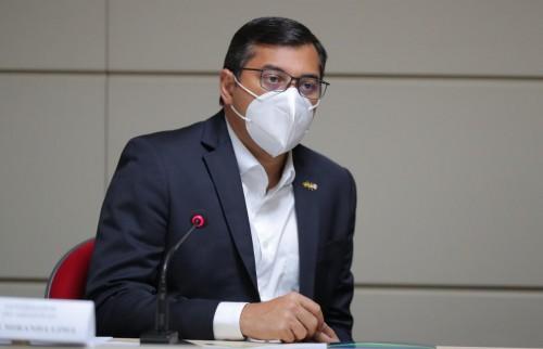 governador do Amazonas, Wilson Lima (PSC).