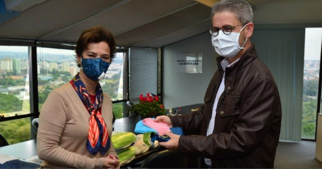 Campanha Máscara legal recebe 15 mil unidades da Construtora Planeta