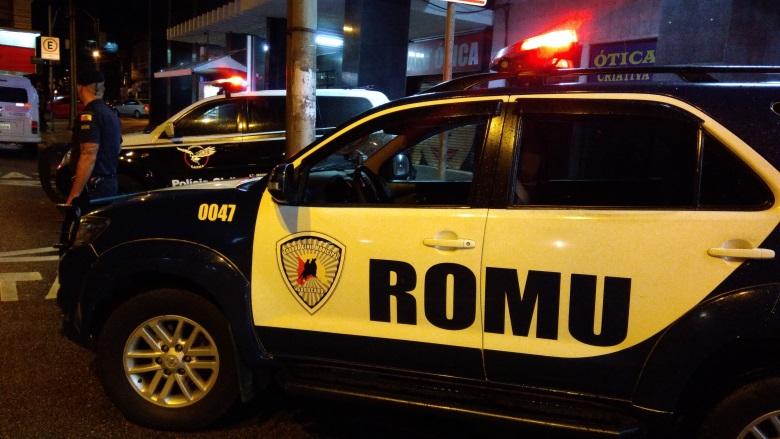 Romu detém três suspeitos de tráfico de drogas no Jardim Ipiranga