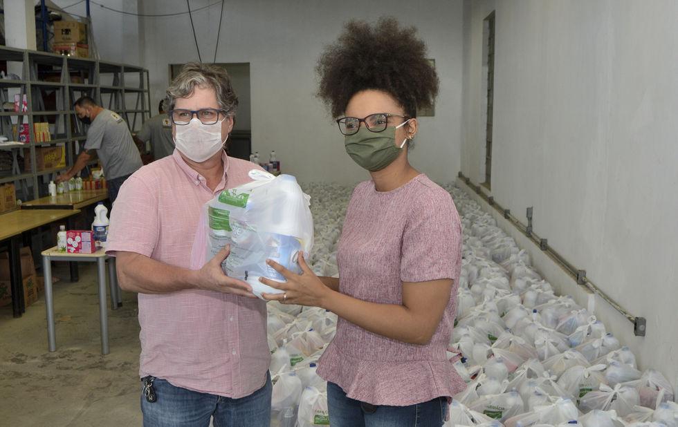 Ação do Instituto Miguel Soeiro ajuda famílias a evitar o vírus