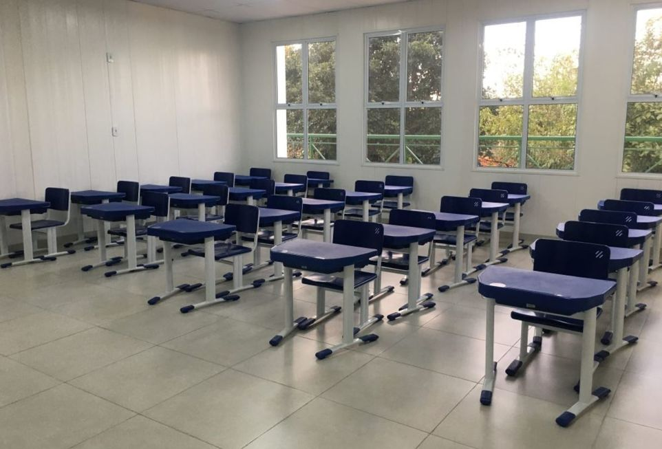 Cidades entregam obras em escolas