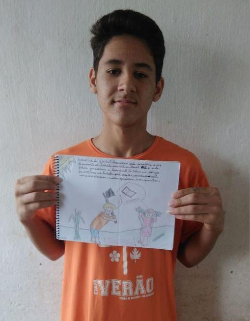 Desenhos em defesa dos direitos das crianças