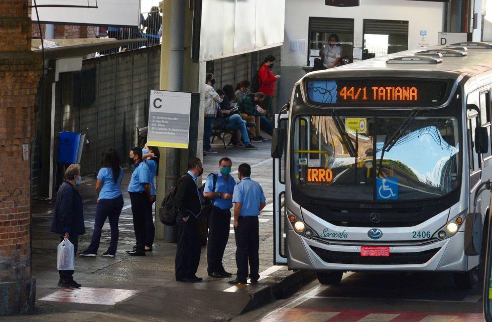 Funcionários e agentes do transporte serão testados