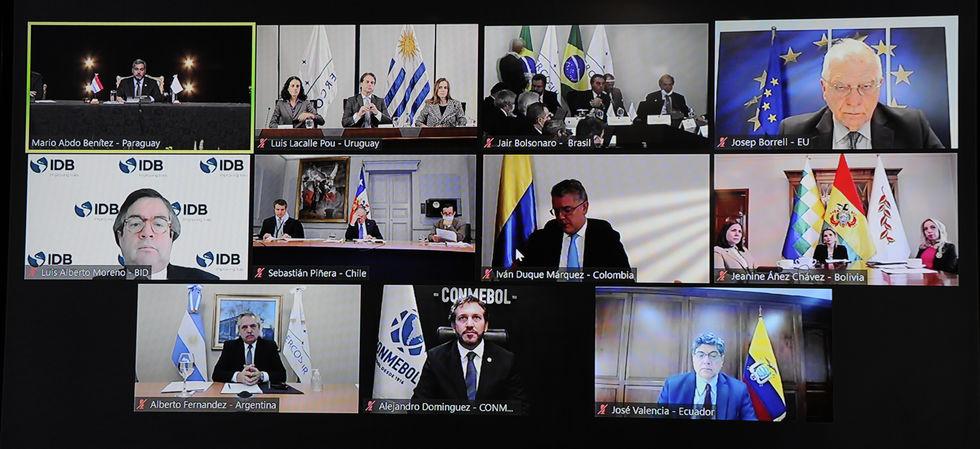 Mercosul debate ações contra a pandemia