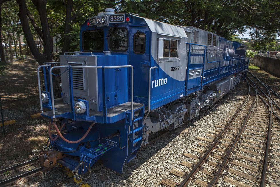 Investimentos serão concentrados em outras ferrovias, diz Rumo. Crédito da foto: Divulgação Rumo