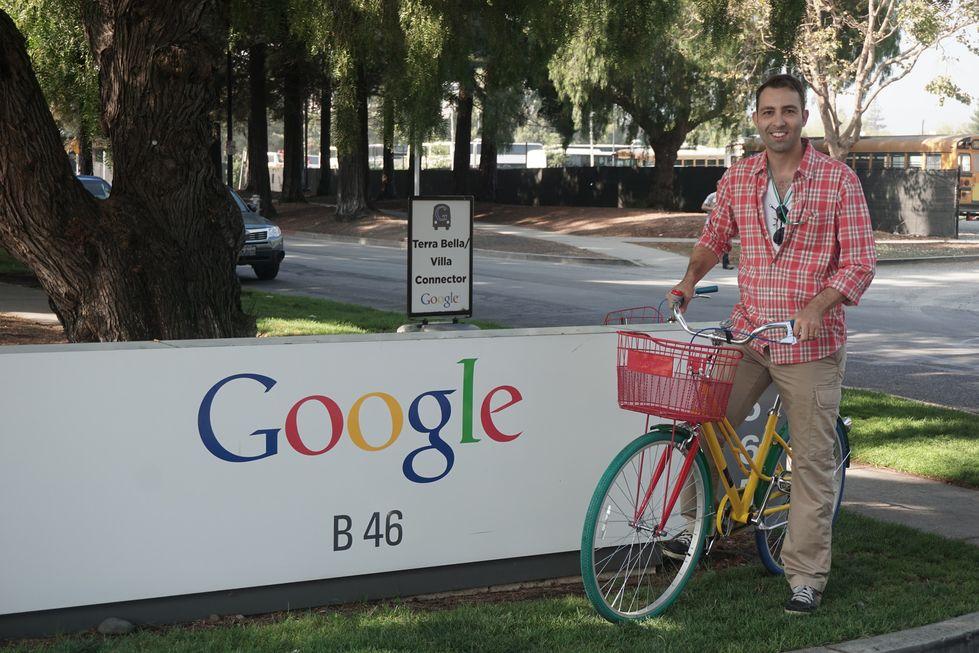 Presença: Talento sorocabano no Google