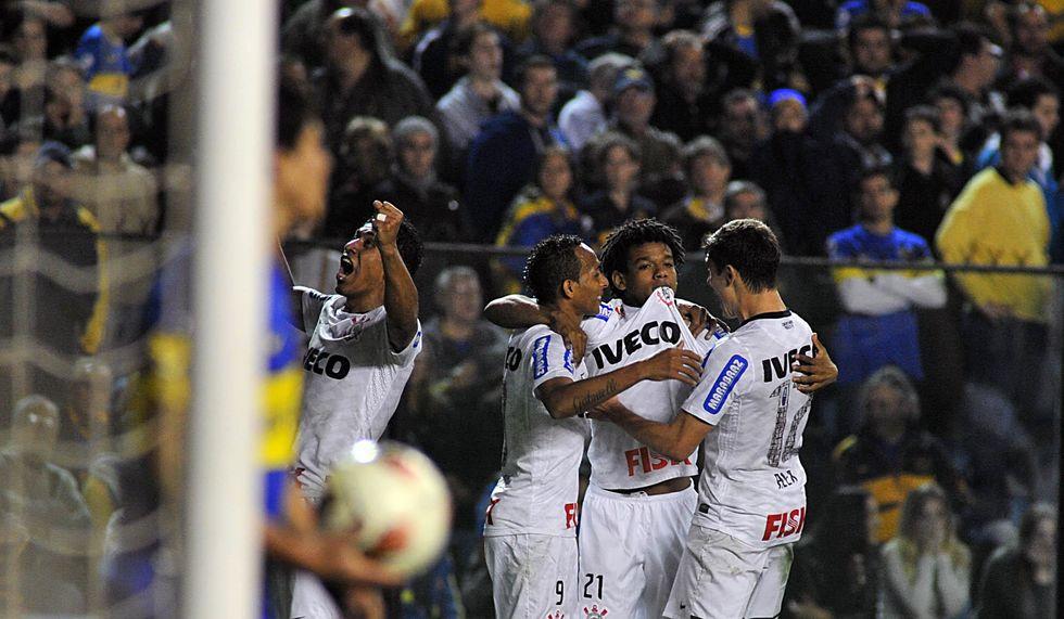Timão relembra Libertadores-2012