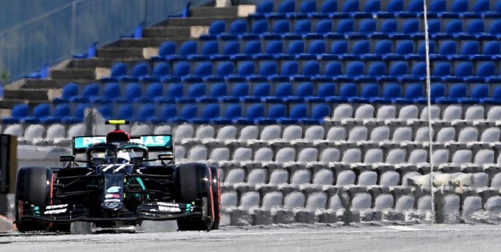 Bottas supera Hamilton na Áustria e conquista a 1ª pole na temporada da F1