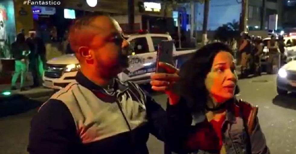 Empresa demite mulher flagrada ofendendo fiscal da Prefeitura do Rio